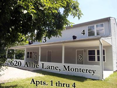 Monterey Single Family Home For Sale: 620 Allie Ln Unit 1