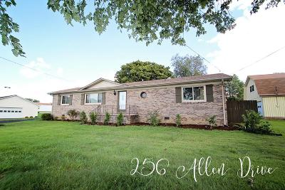 Sparta Single Family Home For Sale: 256 Allen Drive