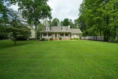 Cookeville Single Family Home For Sale: 1719 Heathrow Drive
