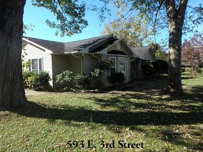 Cookeville Single Family Home For Sale: 593 3rd St
