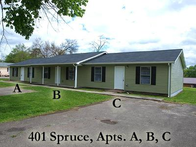 Cookeville Single Family Home For Sale: 401 Spruce Ave Unit C
