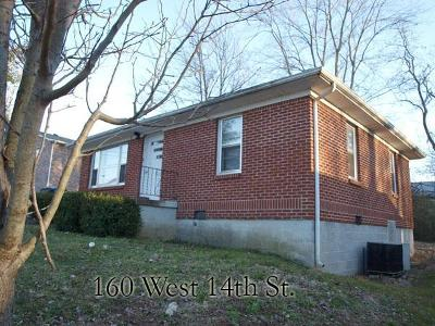 Cookeville Single Family Home For Sale: 160 14th