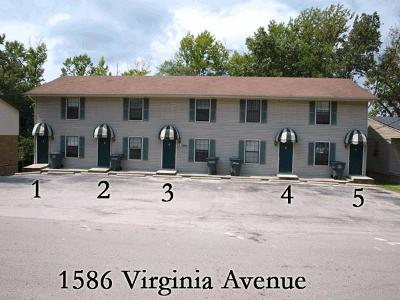 Cookeville Single Family Home For Sale: 1586 Virginia Ave. Unit 1