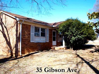 Cookeville Single Family Home For Sale: 35 Gibson Ave