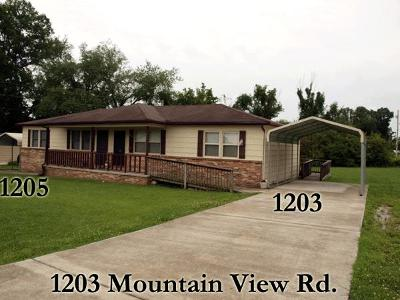 Cookeville Single Family Home For Sale: 1203 Mountain View Dr
