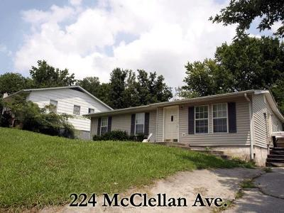 Cookeville Single Family Home For Sale: 224 McClellan Ave.