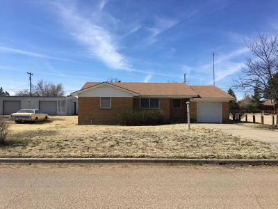 Fritch Single Family Home For Sale: 300 Hoyne S Ave.