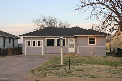 Panhandle Single Family Home For Sale: 1508 Franklin Ave