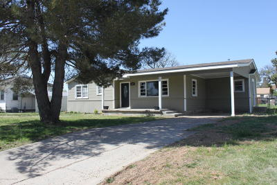 Panhandle Single Family Home For Sale: 409 Park