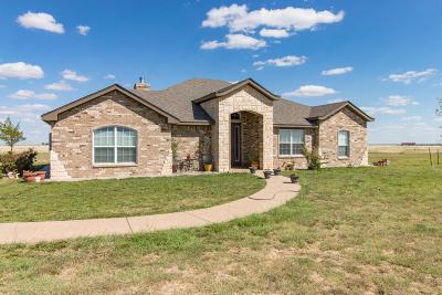 Amarillo Single Family Home For Sale: 11501 Juett Attebury Rd