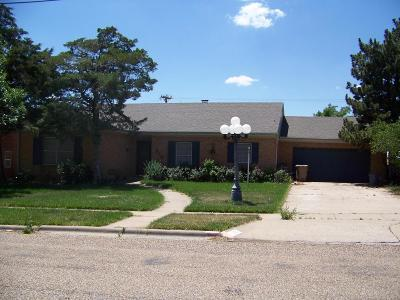 Borger Single Family Home For Sale: 515 Austin Street