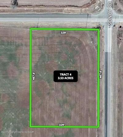 Amarillo Commercial For Sale: Fm 2219 SW Tract 4