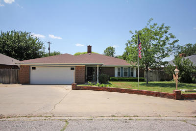Amarillo Single Family Home For Sale: 7604 Canode Dr