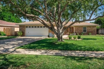 Amarillo Single Family Home For Sale: 7308 Calumet Pl
