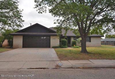 Amarillo Single Family Home For Sale: 4523 Harvard St