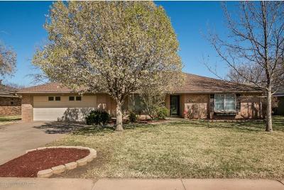 Amarillo Single Family Home For Sale: 3703 Kileen Dr