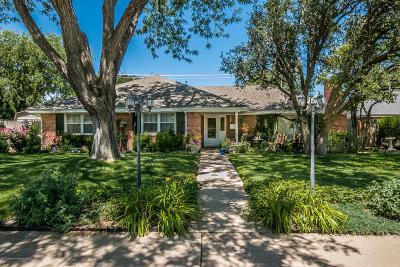 Amarillo Single Family Home For Sale: 3106 Harmony St