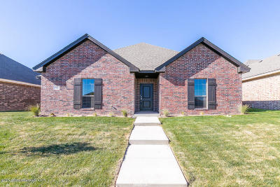 Amarillo Single Family Home For Sale: 7716 Legacy Pkwy