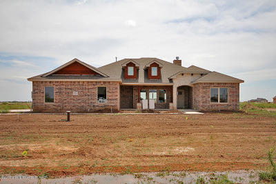 Amarillo Single Family Home For Sale: 9651 Hey Jude Ln