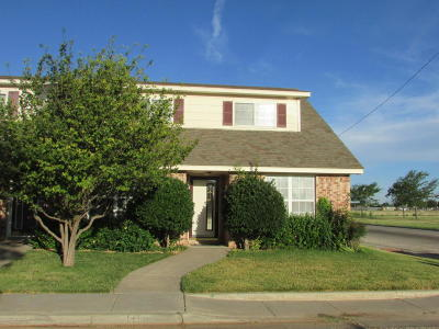Amarillo Condo/Townhouse For Sale: 5400 Somerset Dr
