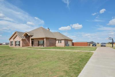 Amarillo Single Family Home For Sale: 5451 Coyote Springs