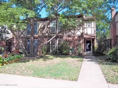 Amarillo Condo/Townhouse For Sale: 1536 Alabama