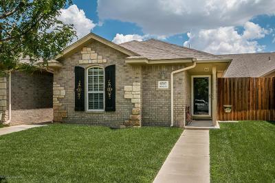 Amarillo Condo/Townhouse For Sale: 6707 Mosley St