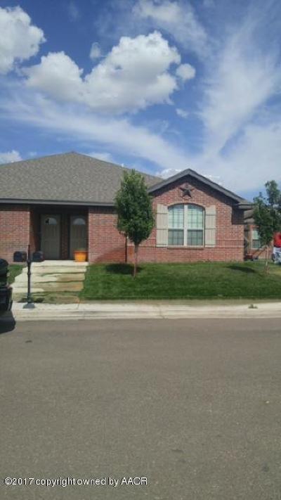 Amarillo Condo/Townhouse For Sale: 4519 Katharina Ct