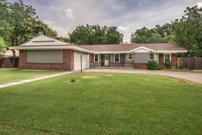Amarillo Single Family Home For Sale: 4013 Julie Dr