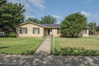Amarillo Single Family Home For Sale: 2800 Bowie S St