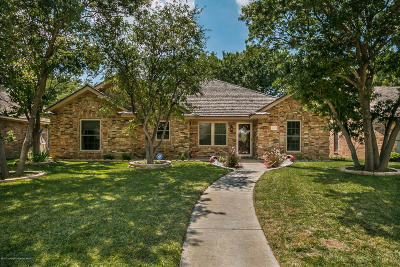 Amarillo Single Family Home For Sale: 4402 Crain Pl