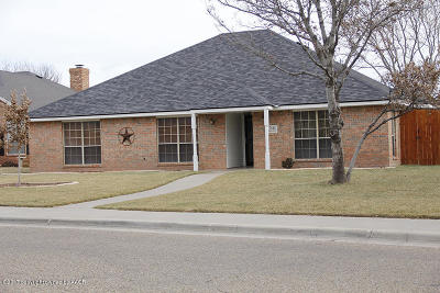 Randall County Single Family Home For Sale: 7513 Sheldon Rd
