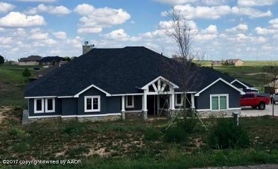 Canyon Single Family Home For Sale: 17531 Valley Lake Dr