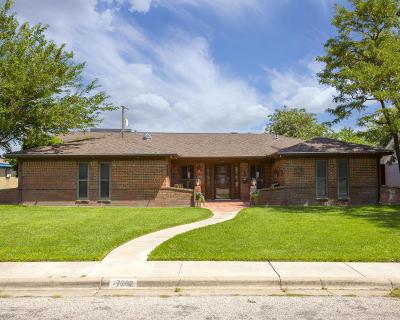 Amarillo Single Family Home For Sale: 7202 Gainsborough Rd