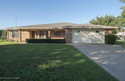 Amarillo Single Family Home For Sale: 11765 Brooks Cir