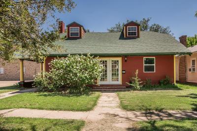 Amarillo Single Family Home For Sale: 2107 Van Buren S St