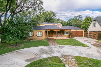 Amarillo Single Family Home For Sale: 2602 Lipscomb St