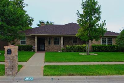 Single Family Home For Sale: 3523 Timber Dr