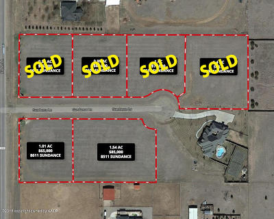 Amarillo Residential Lots & Land For Sale: 8511 Sundance Ln