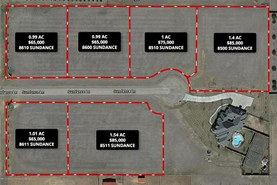 Amarillo Residential Lots & Land For Sale: 8600 Sundance Ln
