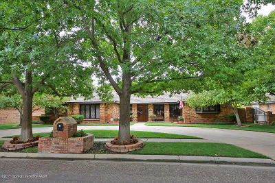 Randall County Single Family Home For Sale: 6207 Ridgewood Dr.