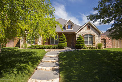 Amarillo Single Family Home For Sale: 7608 Continental Pkwy