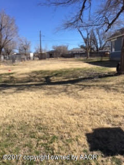 Amarillo Residential Lots & Land For Sale: 404 Prospect St