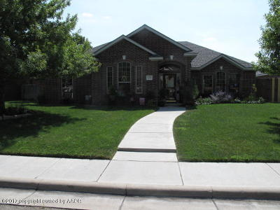Randall County Single Family Home For Sale: 6705 Achieve Dr