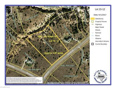 Canyon Residential Lots & Land For Sale: 320 Lake Ridge Rd