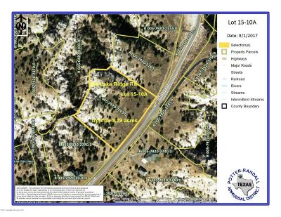Canyon Residential Lots & Land For Sale: 308 Lake Ridge Rd