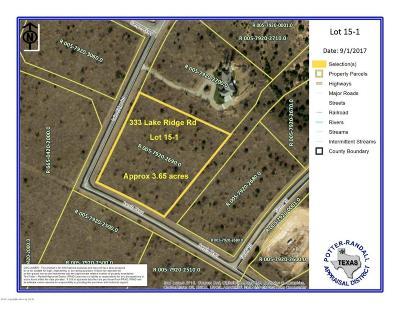 Canyon Residential Lots & Land For Sale: 333 Lake Ridge Rd