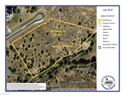 Canyon Residential Lots & Land For Sale: 205 Sandy Trl
