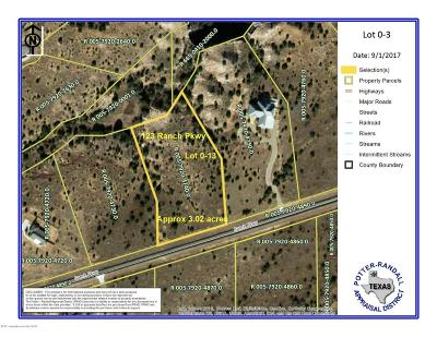 Canyon Residential Lots & Land For Sale: 123 Ranch Pkwy