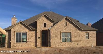 Amarillo Single Family Home For Sale: 6205 Bay Ridge